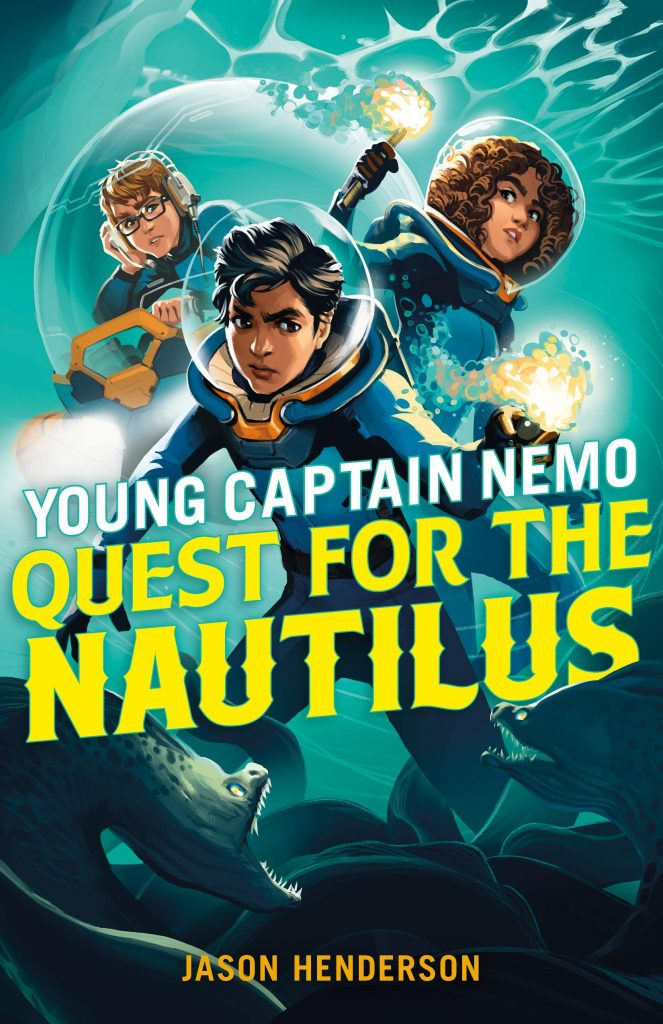 Book Cover: Young Captain Nemo: Quest for the Nautilus
