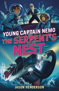 Book Cover: Young Captain Nemo: The Serpent's Nest