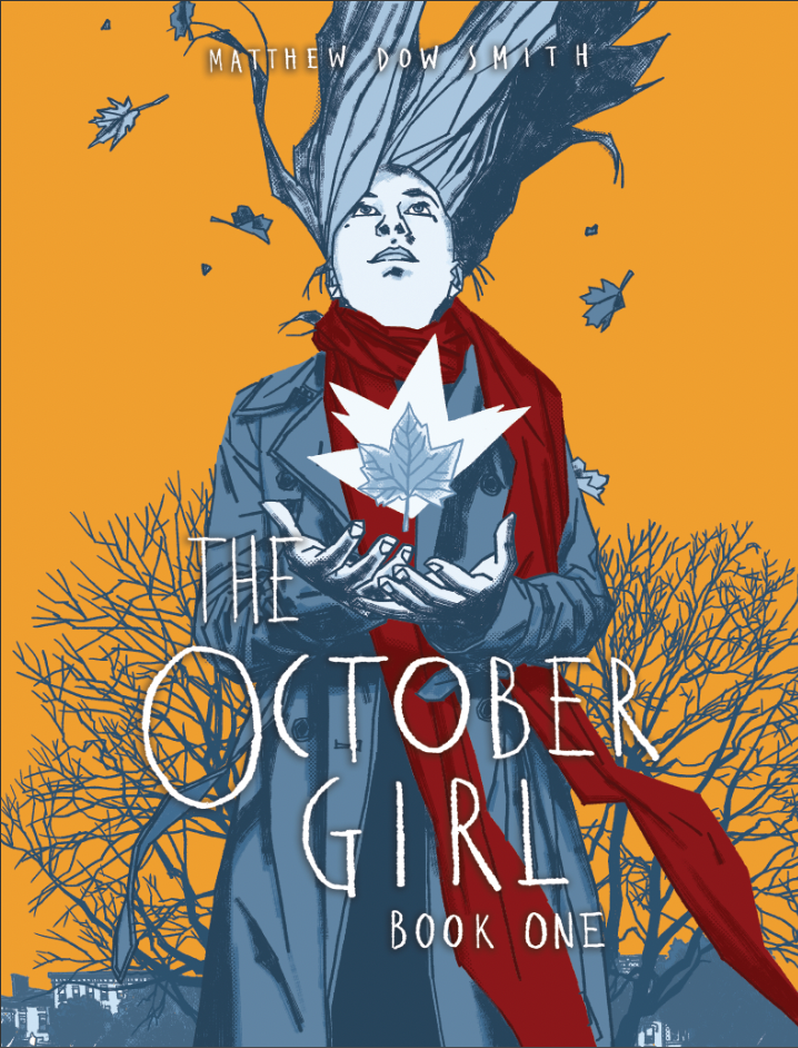 Book Cover: The October Girl