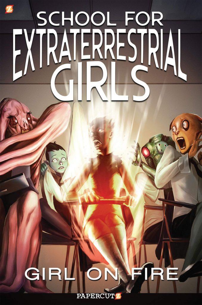 Book Cover: S4ETGirls: Girl on Fire