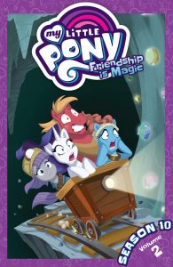 Book Cover: MLP: Friendship is Magic (S 10, vol 2)