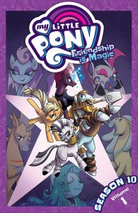 Book Cover: MLP: Friendship is Magic (S 10, vol 1)